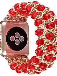 cheap -Watch Band for Apple Watch Series 3 / 2 / 1 Apple Jewelry Design Ceramic Wrist Strap