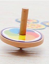 cheap -Spinning Top Toys Relieves ADD, ADHD, Anxiety, Autism Focus Toy Round Beech Wood Others Pieces Gift
