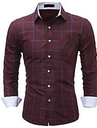 cheap -Men's Cotton Shirt - Striped