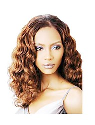 cheap -Synthetic Hair Wigs Body Wave Capless Natural Wigs Medium Brown Synthetic Wig