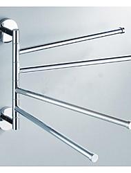abordables -Barre porte-serviette Universel Acier inoxydable 1 pièce - Bain d'hôtel Barre à 4 serviettes