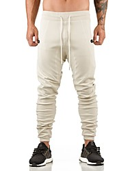 cheap -Men's Jogger Pants / Running Pants - White, Black, Grey Sports Pants / Trousers Exercise & Fitness, Cycling / Bike, Running Activewear