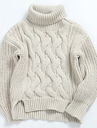 cheap -Boys' Daily Solid Sweater & Cardigan, Cotton Spring Long Sleeves Simple Brown Green White