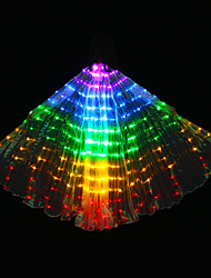 cheap -Belly Dance Isis Wings Women's Polyester Bulb Included Tube Wings