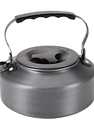cheap -Camping Kettle Outdoor Cookware Heat Insulated / Wearable Stainless Steel Outdoor for Camping Black