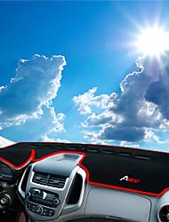 Недорогие -автомобильный Маска для приборной панели Коврики на приборную панель Назначение Chevrolet 2014 2015 2016 2017 Aveo