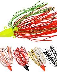 abordables -5 pcs leurres de pêche Leurre Buzzbait & Spinnerbait Paillette Extérieur Pêche en mer Bateau de pêche / Pêche à la traîne Pêche au leurre