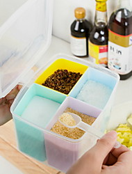 cheap -Plastic Smart Creative Kitchen Gadget Food Storage 1pc Kitchen Organization