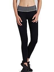 abordables -Mujer Pantalones de Running - Negro, Azul Oscuro Deportes Licra Pantalones / Sobrepantalón / Leggings Ropa de Deporte Transpirabilidad