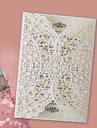 cheap -Gate-Fold Wedding Invitations 50pcs - Invitation Cards Invitation Sample Mother's Day Cards Baby Shower Cards Bridal Shower Cards