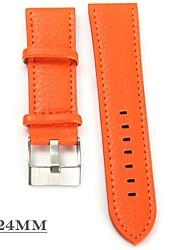 cheap -JUBAOLI Men's / Women's Wrist Watch Chinese Casual Watch / Cool Leather Band Orange / Yellow