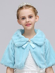 cheap -Girls' Solid Blouse, Rayon Polyester All Seasons Long Sleeves Simple Vintage Blue White Blushing Pink Beige