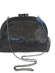 cheap -Bags Acrylic / Metal Clutch Sequin for Event / Party Black / Gray