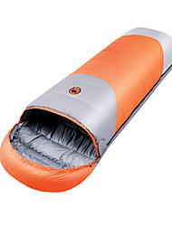 baratos -Shamocamel® Saco de dormir Ao ar livre -15°C Retangular Penas de Pato Manter Quente Compressão para Outono Inverno