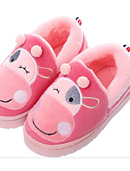 cheap -Girls' Shoes Fleece Spring Fall Comfort Slippers & Flip-Flops for Casual Purple Coffee Light Grey Pink