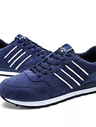 economico -Da uomo Scarpe PU (Poliuretano) Primavera Autunno Comoda scarpe da ginnastica Lacci per Casual Grigio Blu
