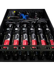 billige -xieshou et zec miner minedrift maskine eth215 gtx1080ti * 6