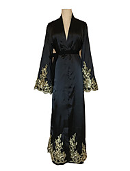 cheap -Fashion Arabian Dress Abaya Female Festival / Holiday Halloween Costumes Black Lace