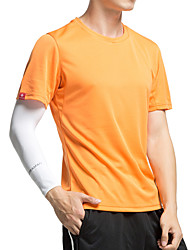 cheap -KORAMAN Men's Short Sleeves Cycling Jersey - Orange Army Green Blue Grey Bike Quick Dry, Ultraviolet Resistant, Breathable, Sweat-wicking