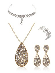 cheap -Women's Jewelry Set - Imitation Diamond Drop European, Fashion Include forehead jewelry / Bridal Jewelry Sets Gold For Wedding / Party