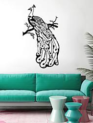 abordables -Animaux Stickers muraux Autocollants avion Autocollants muraux décoratifs, Vinyle Décoration d'intérieur Calque Mural Fenêtre Mur