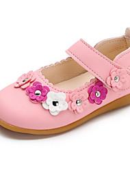 economico -Da ragazza Scarpe Finta pelle Primavera Autunno Comoda Scarpe da cerimonia per bambine Ballerine per Casual Bianco Fucsia Rosa