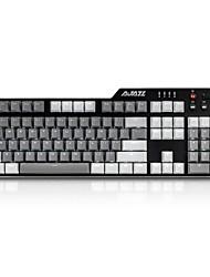 Недорогие -ajazz-ak35i -pbt 110-клавишная светодиодная подсветка с механической клавиатурой с кабелем 180 см