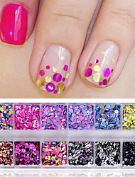 cheap -Nail Glitter Sequins Fashionable Jewelry Sweet Style Classic Elegant & Luxurious High Quality Daily Nail Art Design