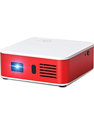 cheap -DLP Mini Projector 100lm Android 4.4 Support 1080P (1920x1080) 300inch Screen
