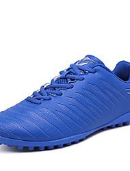 baratos -Para Meninas sapatos Micofibra Sintética PU Primavera Outono Conforto Tênis Futebol para Atlético Vermelho Verde Claro Azul Real