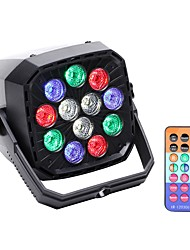 cheap -U'King LED Stage Light / Spot Light LED Par Lights DMX 512 Master-Slave Sound-Activated Auto Remote Control for Festival/Holiday Club Bar