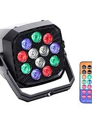Недорогие -U'King Светодиодные театральные лампы Светодиодные параболические алюминиевые рефлекторы DMX 512 Ведущее устройство Активация звуком Авто