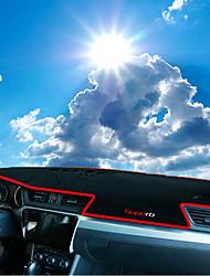 abordables -Automobile Matrice de tableau de bord Tapis Intérieur de Voiture Pour Skoda 2016 2017 Superb