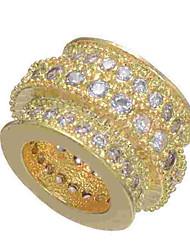 baratos -Jóias DIY 1 pçs Contas Imitações de Diamante Liga Dourado Prata Ouro Rose Redonda Bead 0.5 cm faça você mesmo Colar Pulseiras