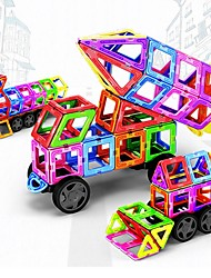 cheap -Magnetic Blocks 198 pcs Transformable Car Children's Gift