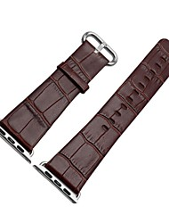 Недорогие -Ремешок для часов для Apple Watch Series 2 Apple Watch Series 1 Apple Современная застежка Натуральная кожа Повязка на запястье