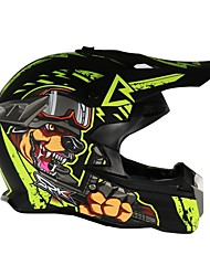 cheap -Off-Road Motorcycle Racing Helmet Gloss Black Full Face Damping Durable Motorsport Helmet