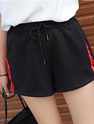 cheap -Women's Cotton Sweatpants Pants - Striped / Summer