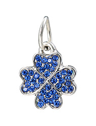 cheap -Women's Cute Rhinestone Charms - Casual / Fashion Red / Light Blue / Royal Blue Four Leaf Clover Pendant For Daily / School