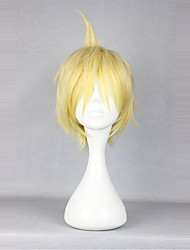 cheap -Cosplay Wigs Lolita Yellow Princess Lolita Wig 35cm CM Cosplay Wigs Solid Colored Wig For