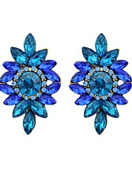 preiswerte -Damen Imitation Turmalin Tropfen-Ohrringe - Einfach Grundlegend Blume Für Alltag Verabredung