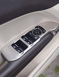 Недорогие -автомобильный стеклоподъемник переключатель охватывает DIY автомобильных интерьеров для lincoln все годы mkc stailess стали