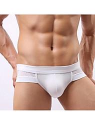 baratos -Homens Sexy Cuecas Sólido Côr Sólida Cintura Baixa