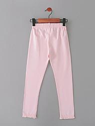 cheap -Girls' Solid Pants, Nylon Fall Ordinary White Black Blushing Pink Army Green Royal Blue