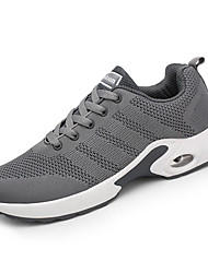 cheap -Men's Shoes Fabric Spring Fall Sports & Outdoors Comfort Athletic Shoes Running for Athletic Casual Black Gray