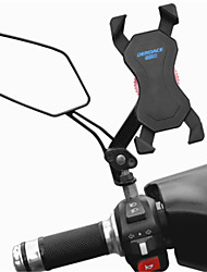 cheap -Motorcycle Bike Mobile Phone mount stand holder Adjustable Stand 360° Rotation Mobile Phone Buckle Type Slip Resistant Polycarbonate