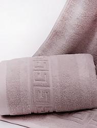 abordables -Style frais Serviette de bain, Couleur Pleine Qualité supérieure Pur coton Plaine coton 100% Serviette