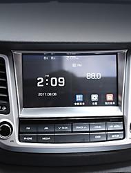 preiswerte -Automotives zentrum stapeln deckt diy autoinnenräume für hyundai 2015 2016 2017 neue tucson stailess stahl