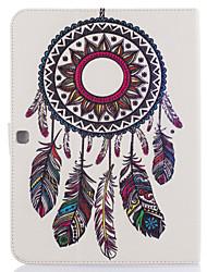 abordables -Funda Para Samsung Galaxy Soporte de Coche Cartera con Soporte Diseños Activación al abrir/Reposo al cerrar Atrapasueños Dura para