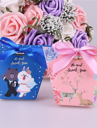 cheap -Other Card Paper Favor Holder with Ribbons Favor Boxes - 25pcs